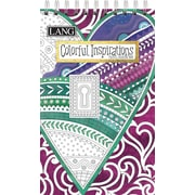 LANG Colorful Inspirations Travel Coloring Book (1024107)