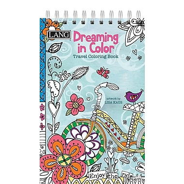 LANG Dreaming In Color Travel Coloring Book (1024104)