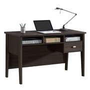 CorLiving WFP-380-D Folio Single Drawer Desk, Black Espresso