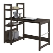 CorLiving WFP-580-D Folio Bookshelf Styled Desk, Black Espresso