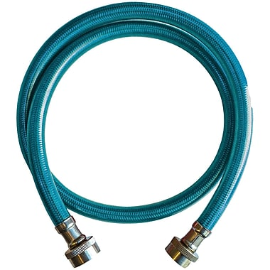Blue Cover Stainless Steel Inlet Hose Assembly (4ft)