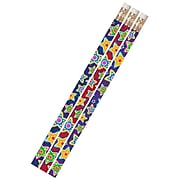 Musgrave Mad About Stars Motivational Pencils, Pack of 144 (MUS2486G)