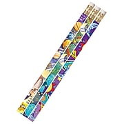 Musgrave Galaxy Galore Motivational/Fun Pencils, Pack of 144 (MUS1495G)