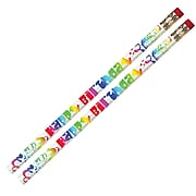 Musgrave Happy Birthday Fiesta Pencil, Pack of 144 (MUS1361G)