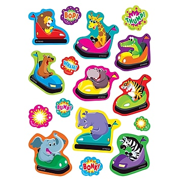 Trend Bumper Blast/Root Beer Mixed Shapes Stinky Stickers®, 64 Per Pack, 6 Packs (T-83041BN)