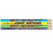 Musgrave Happy Birthday Wishes Pencil, Pack of 144 (MUS2217G)