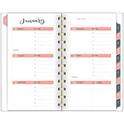 "2020 One Canoe Two for AT-A-GLANCE 3-1/2"" x 6 1/4"" Weekly/Monthly Pocket Planner, Meadow (1361-300-20)"