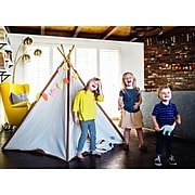 Pacific Play Tents Cotton Canvas Teepee (PPT39614)