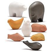 Yellow Door Sensory Play Animal Stones, Pack of 8 (YUS1067)