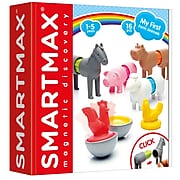 Smart Toys And Games My First SmartMax®, Farm Animals, 2 Sets, 16 Pieces Per Set (SMX221BN)
