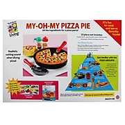 Small World Toys My Oh My Pizza Pie, 11 Piece Set (SWT8632158)