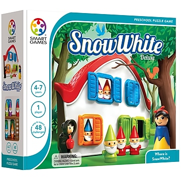Smart Toys And Games Snow White™ PreSchool Puzzle Game, 10/Set (SG-024)