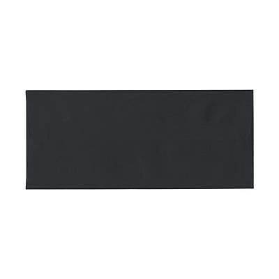 JAM Paper® #10 Business Envelopes, 4.125 x 9.5, Black, 1000/carton (2112730b)