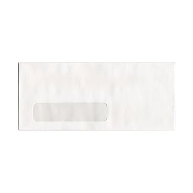 JAM Paper® #10 Window Business Envelopes, 4.125 x 9.5, White, 250/pack (1633173cf)