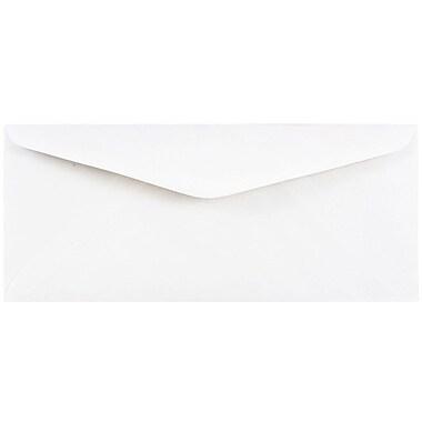 JAM Paper® #11 Business Commercial Envelopes, 4 1/2 x 10 3/8, White, 250/box (45179c)