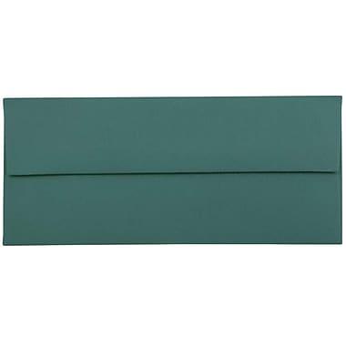 JAM Paper® #10 Business Envelopes, 4.125 x 9.5, Teal Blue, 50/pack (63924024i)
