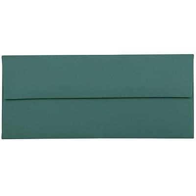 JAM Paper® #10 Business Envelopes, 4.125 x 9.5, Teal Blue, 500/box (63924024h)