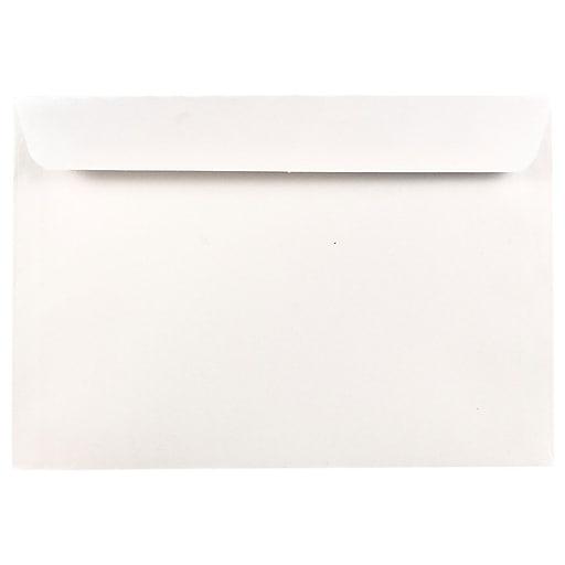 JAM Paper® 6.5 x 9.5 Booklet Commercial Envelopes, White, 50/Pack (4241i)