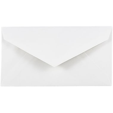 JAM Paper® #7 3/4 Monarch Envelopes, 3 7/8 x 7 1/2, White, 500/box (1633984c)