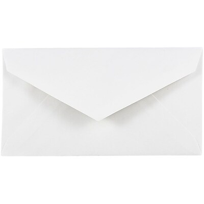 JAM Paper® #7 3/4 Monarch Envelopes, 3 7/8 x 7 1/2, White, 500/box (1633984c)