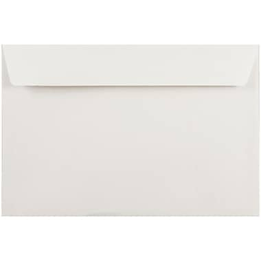 JAM Paper® 6 x 9 Booklet Envelopes, White, 50/pack (4238i)
