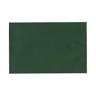 JAM Paper® 6 x 9 Booklet Envelopes, Dark Green, 25/pack (263917092)