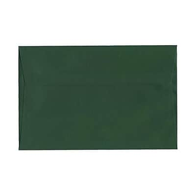 JAM Paper® 6 x 9 Booklet Envelopes, Dark Green, 1000/carton (263917092b)