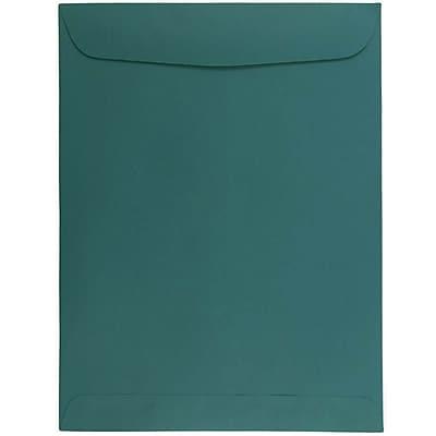 JAM Paper® 9 x 12 Open End Catalog Envelopes, Teal, 50/pack (31287536i)