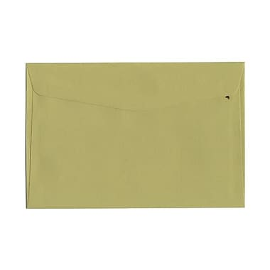 JAM Paper® 6 x 9 Booklet Envelopes, Chartreuse Green, 1000/carton (21512978b)