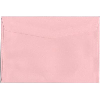 JAM Paper® 6 x 9 Booklet Envelopes, Baby Pink, 1000/carton (23512969b)
