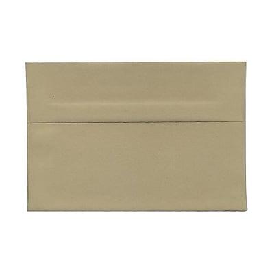 JAM Paper® A6 Invitation Envelopes, 4.75 x 6.5, Tan Brown, 1000/carton (125423542b)