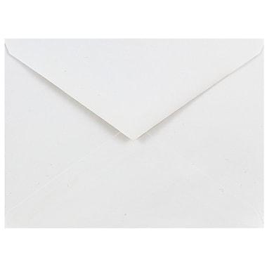 JAM Paper® A6 Invitation Envelopes, 4.75 x 6.5, White V-flap, 500/box (J0567c)