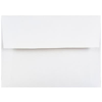 JAM Paper® 4bar A1 Envelopes, 3 5/8 x 5 1/8, White, 500/box (47385c)