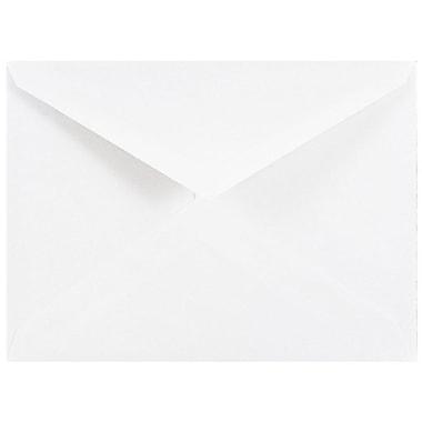 JAM Paper® 4bar A1 Envelopes, 3 5/8 x 5 1/8, White V-Flap, 500/box (4023204c)