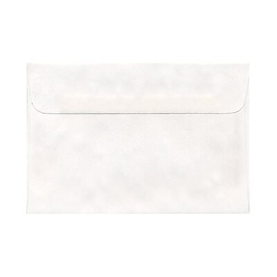 JAM Paper® A8 Invitation Envelopes, 5.5 x 8.125, White with Short Flap, 250/box (MOMV751h250)