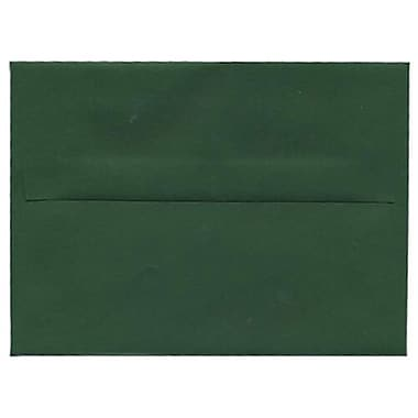 JAM Paper® 4 Bar A1 Invitation Envelopes, 3 5/8 x 5 1/8, Dark Green, 1000/Pack