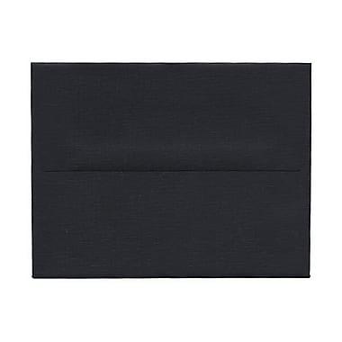 JAM Paper® A2 Invitation Envelopes, 4 3/8 x 5 3/4, Black, 1000/carton (0114914b)
