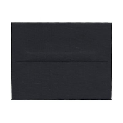 JAM Paper® A2 Invitation Envelopes, 4 3/8 x 5 3/4, Black, 1000/carton (0114914b)