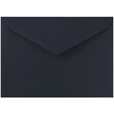 JAM Paper® 8bar V-Flap Envelope, 5 3/4 x 8, Cobalt Blue, 50/pack (526PKCE140)