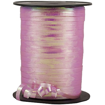 JAM Paper® Curling Ribbon, 250 yard spool, Pink, 12/pack (01072806b)