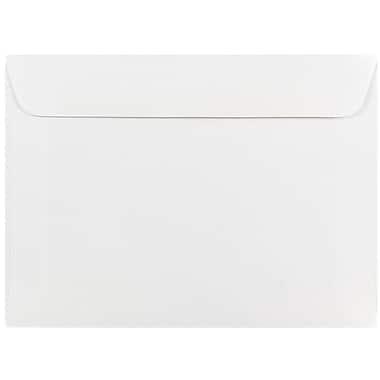JAM Paper® 5.5 x 7.5 Booklet Envelopes, White, 500/box (4235c)