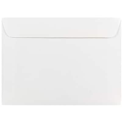 JAM Paper® 5.5 x 7.5 Booklet Envelopes, White, 500/box (4235c)