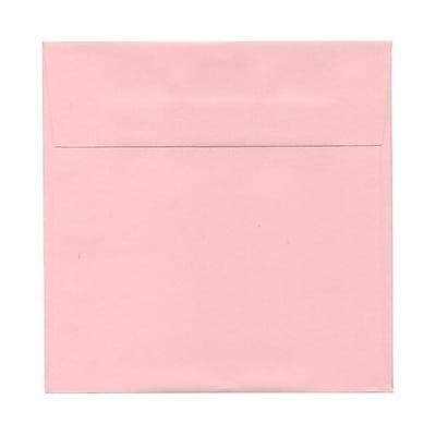 JAM Paper® 7.5 x 7.5 Square Envelopes, Baby Pink, 1000/carton (327912961b)
