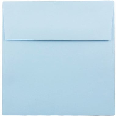JAM Paper® 7.5 x 7.5 Square Envelopes, Baby Blue, 25/pack (21514973)