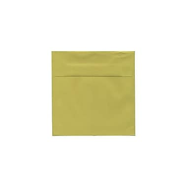JAM Paper® 5.5 x 5.5 Square Envelopes, Chartreuse, 1000/carton (EXBA509b)