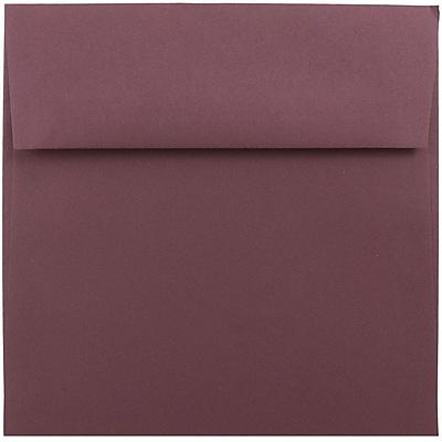 JAM Paper® 5.5 x 5.5 Square Envelopes, Burgundy, 25/pack (36397337)