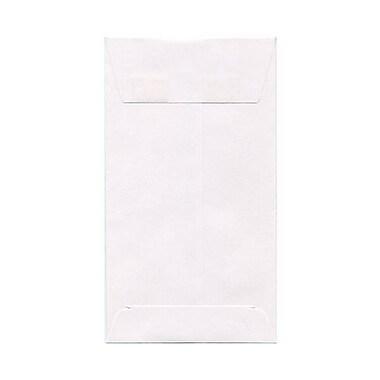 JAM Paper® #6 Coin Envelopes, 3 3/8 x 6, White, 50/pack (1623184i)
