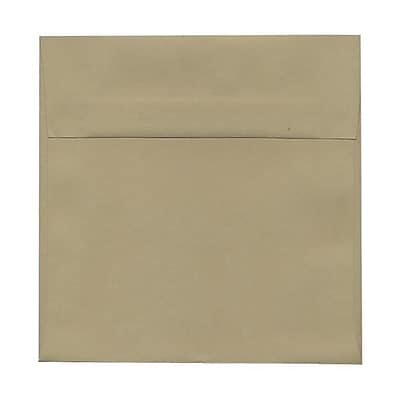 JAM Paper® 6.5 x 6.5 Square Envelopes, Tan Brown, 25/pack (227914986)