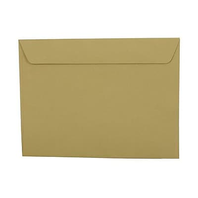 JAM Paper® 9 x 12 Booklet Envelopes, Chartreuse Green, 1000/carton (21516021b)