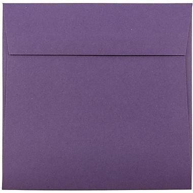 JAM Paper® 6.5 x 6.5 Square Envelopes, Dark Purple, 1000/carton (363912725b)